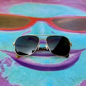 COACH HC765 L617 Women Pilot Sunglasses